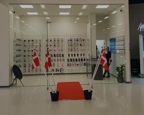 Care1 butik i Esbjerg i Danmark